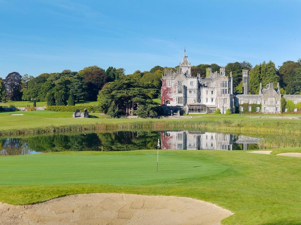 Play Adare Manor Course, near Killarney, Ireland