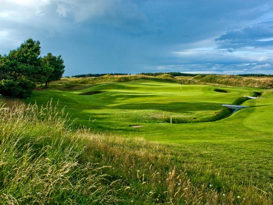 Dundonald Golf Course 13th Hole