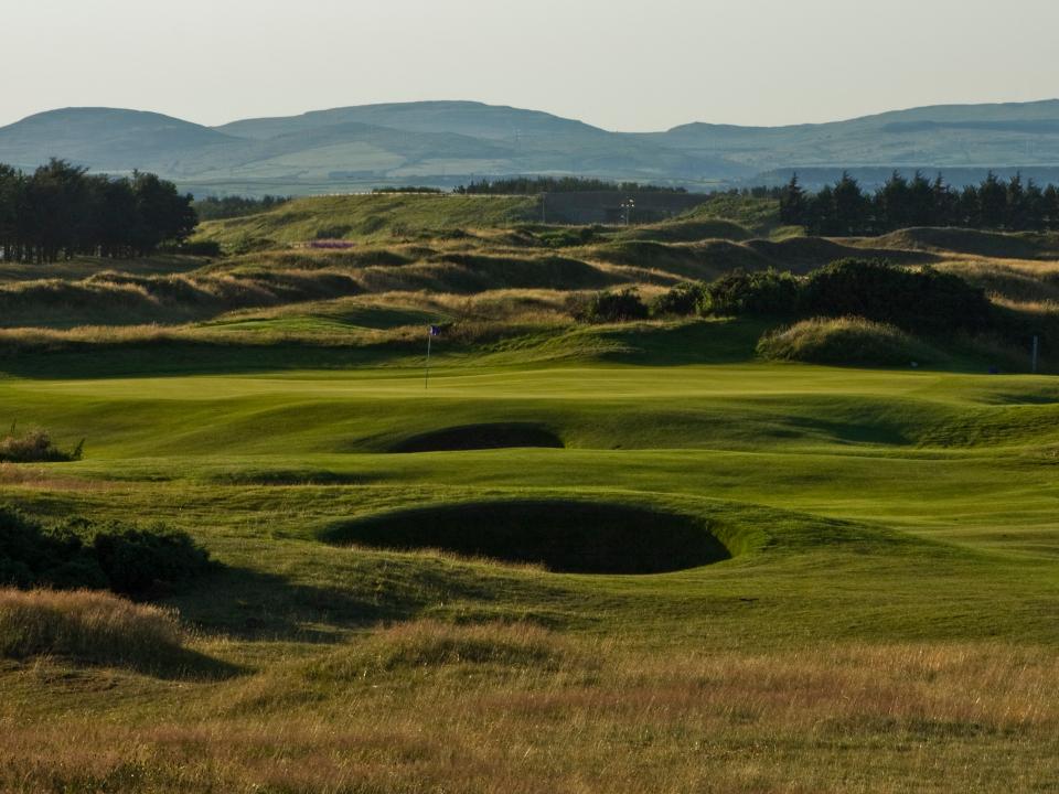 Dundonald Golf Course 8th Hole