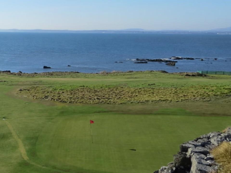 Play Elie Golf Course, near St Andrews, Scotland