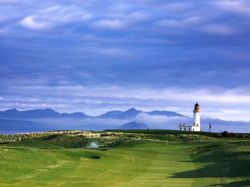 Play Turnberry Ailsa Course and Turnberry Kintyre Course, Scotland