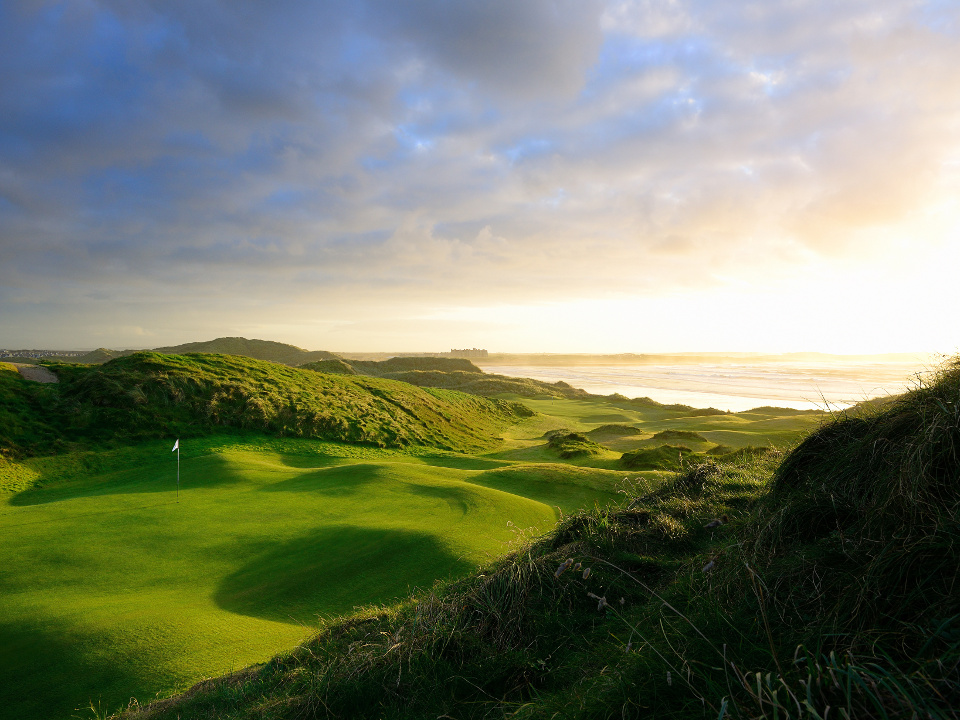 Trump Doonbeg Course - 5th and 14th Holes overlooking the Sea