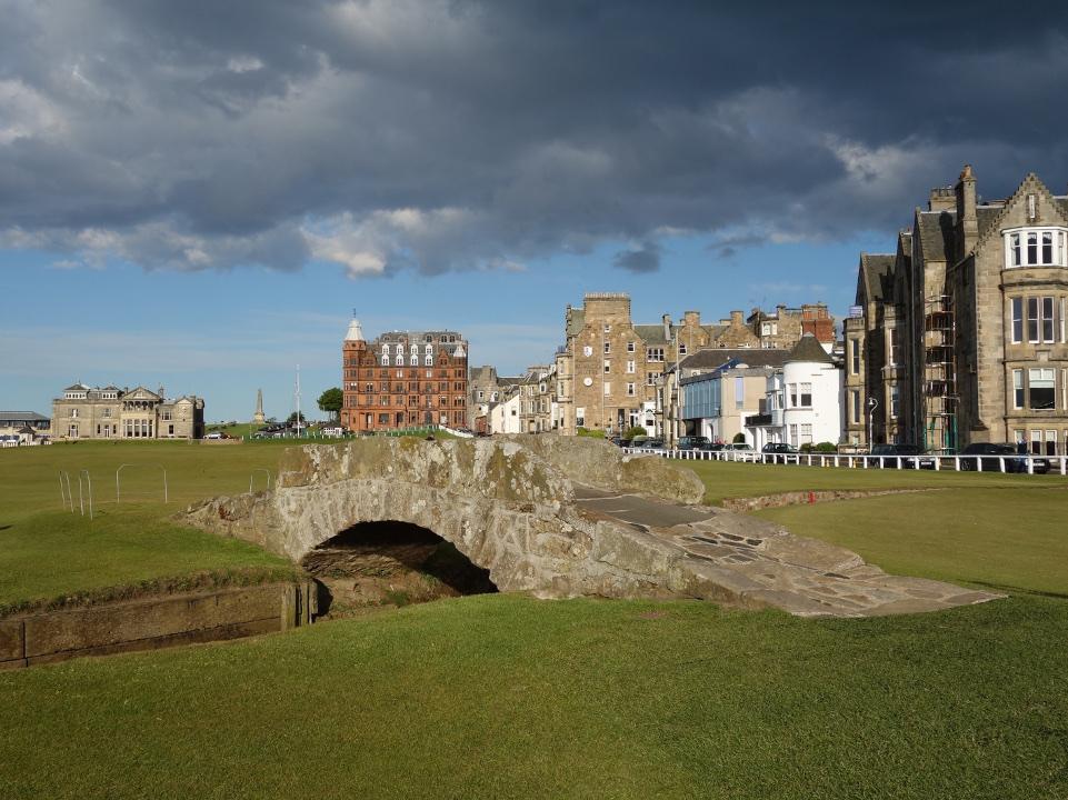 St. Andrews Old Course - Swilcan Bridge
