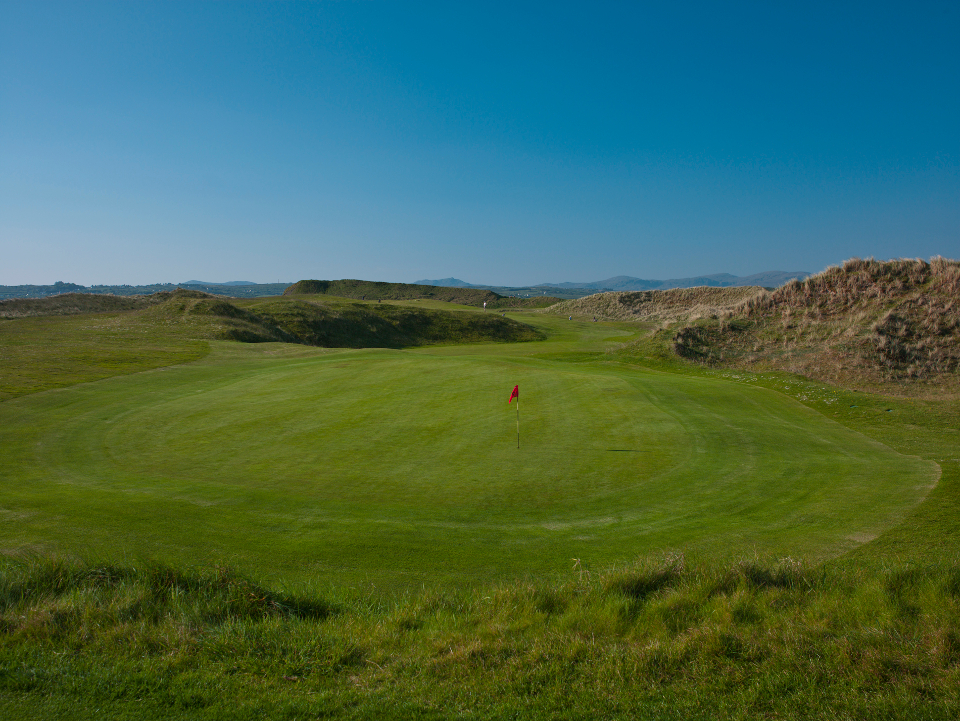 Donegal 8th Hole - Moyne Hill