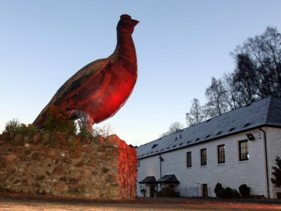 Glenturret Distillery - The Famous Grouse Experience