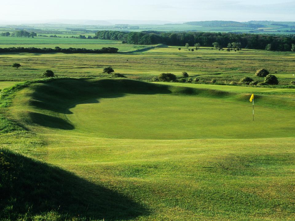 Play Gullane No 1 Course, near Edinburgh, Scotland