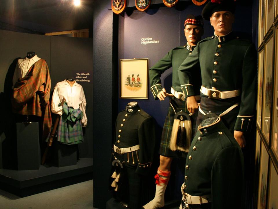 The Scottish Kiltmaker Centre in Inverness
