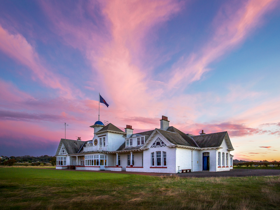 White Clubhouse at Panmure Golf Club