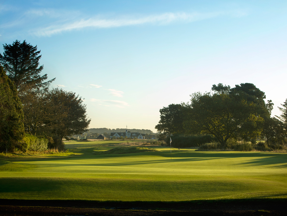 Panmure Golf Course - 16th Hole