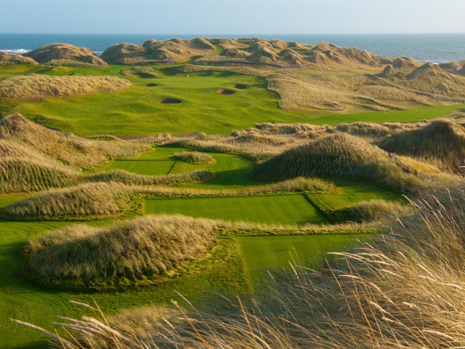 Play Trump International Golf Links, near Aberdeen, Scotland