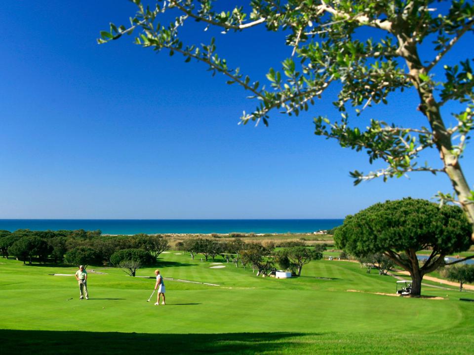 Play Vale do Lobo Ocean Golf Course, The Algarve, Portugal